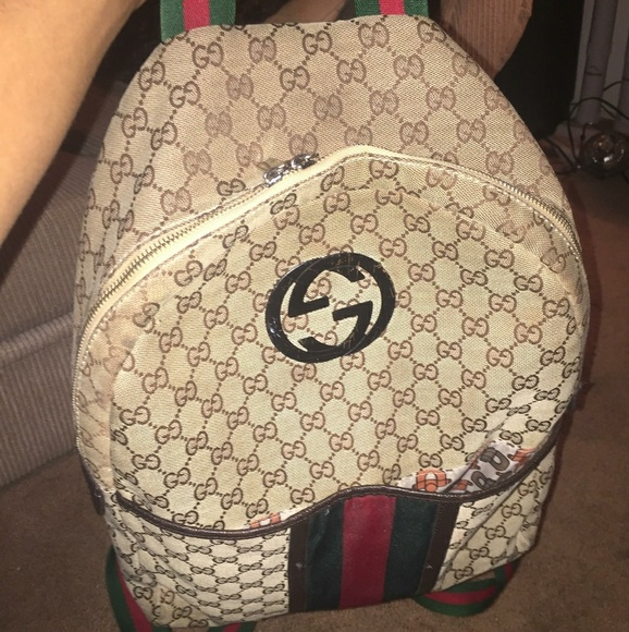 Gucci Other - Gucci book bag (authentic)